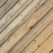 Texture - wall covered with wooden boards — Stock Photo