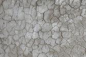 Profundas rachaduras na superfície de gesso — Foto Stock