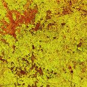 テクスチャ - 古い黄色の塗料の損傷 — ストック写真