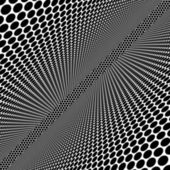 Abstract geometrical monochrome square background — Stock Photo