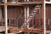 旧生锈金属建筑 — 图库照片