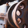 Stock Photo: Grunge industrial engine failed