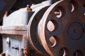 Grunge průmyslový motor selhal — Stock fotografie