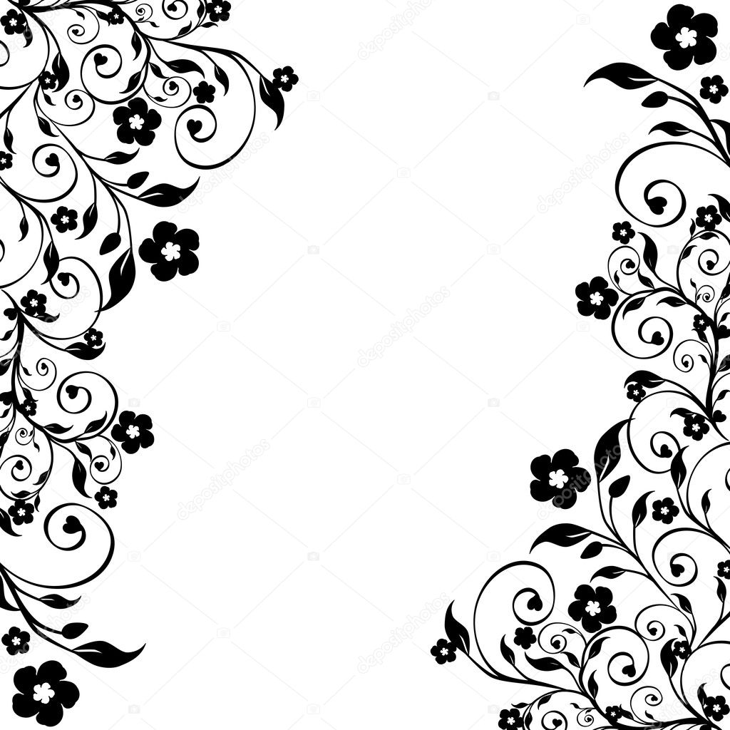 1024 x 1024 jpeg 227kB, Ornament Silhouette | New Calendar Template ...