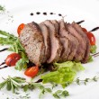 A gourmet fillet  steak — Stock Photo