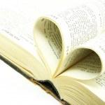 Opened bible — Stock Photo