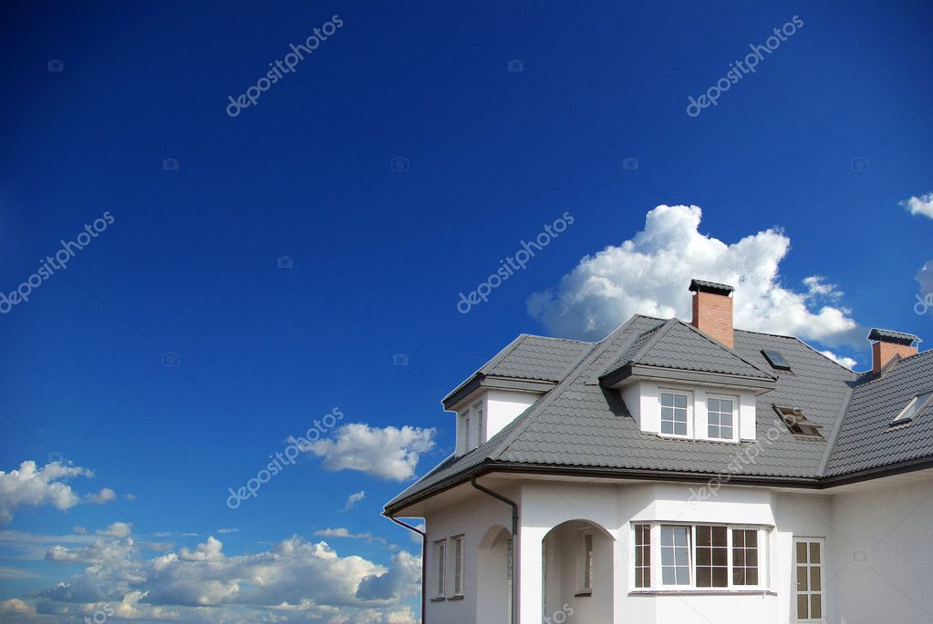 New dream home on sky                 — Stock Photo #2911649
