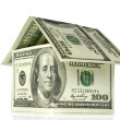 Stock Photo: Money house
