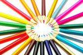 Coloured pencils — Stock Photo