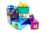 Noel kutusu hediye — Stok fotoğraf