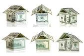 Casa de dólares — Foto Stock