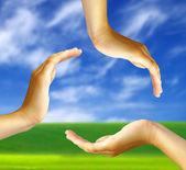 Handen — Stockfoto