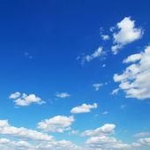 Céu azul — Fotografia Stock