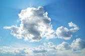 Sunny mraky — Stock fotografie