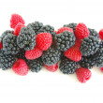 Blackberry and raspberry — Stock Photo #3755783