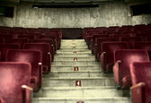 Old empty concert hall — Stock Photo