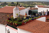 Roofs in city of Portugal — Stock Photo