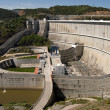 The hydroelectric power station — Stock Photo