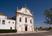 White marble church — Stock Photo