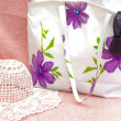 Women bag with sun hat — Stock Photo #3210435