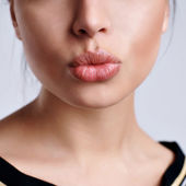 Beautiful lips — Stockfoto