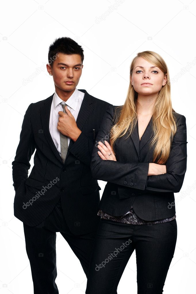 Business couple — Stock Photo #3862756