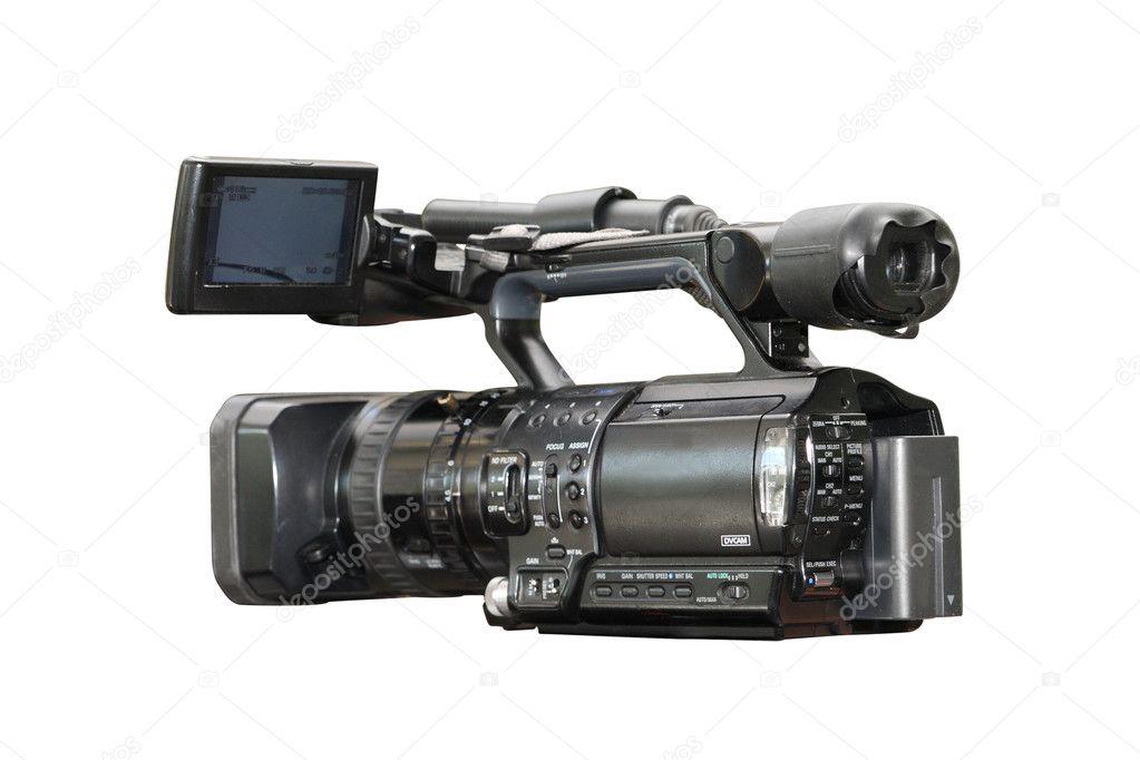 Professional digital video camera — Stock Photo © uatp12 ...