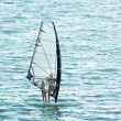Stock Photo: Windsurfing