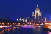 Gece moskova — Stok fotoğraf