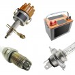Spare parts — Stock Photo