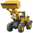Wheel tractor-loader — Stock Photo