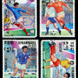 MEXICO - CIRCA 1985: A Stamp printed — Stock Photo