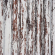 Wood panel with chipped paint. Grunge Style — Stock Photo