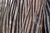 塗装金属スチール — ストック写真