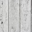 Background of weathered white painted wood — Stock Photo #3444999