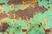 Textura de metal oxidado pintado — Foto de Stock