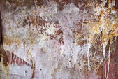 Texture of rusty painted metal — Stock Photo