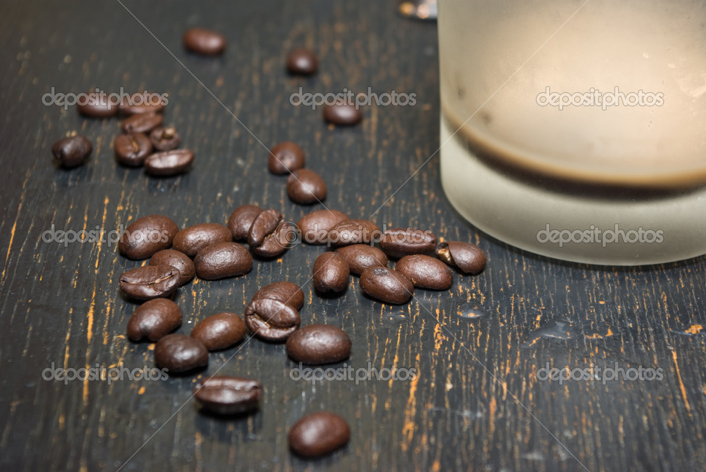 Coffee grunge background — Stock Photo #3766416