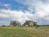 Edificios inacabados — Foto de Stock