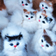 Toy Kittens — Stock Photo