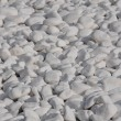 White Pebbles — Stock Photo