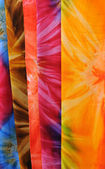 Closeup Bright Fabrics — Stock Photo