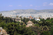 View of Agora in Athens in Greece — Stock Photo
