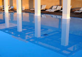 Reflection in Swimming Pool — Stock Photo