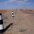 Railroad Crossing in the Middle of Nowhere — Stock Photo #3736518