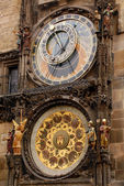 Astronomical Orloy Clock in Prague — Stock Photo