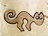 Ancient cat — Stock Photo