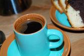 Kaffe und kuchen — Stockfoto