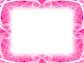 Pink photo frame — Stock Photo