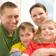 Happy family four — Stock Photo #3209229